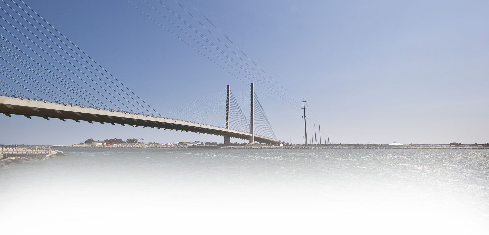 image of bridge over water
